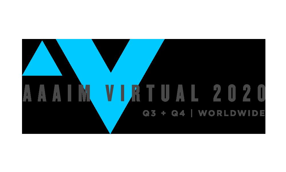 AAAIM Virtual Event 2020 Logo